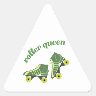 Roller Queen Triangle Sticker