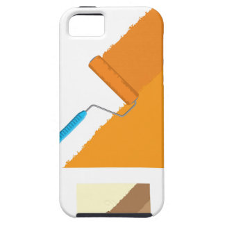 Roller rolling paint across the wall iPhone SE/5/5s case