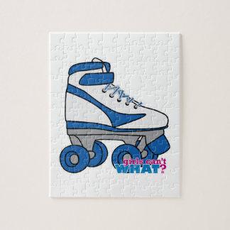 Roller Skate - Blue Puzzles