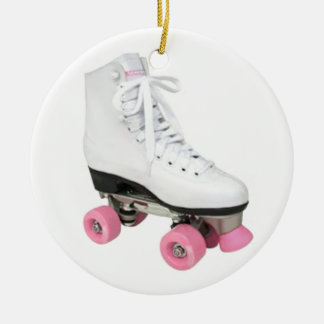 Roller Skate Ceramic Ornament