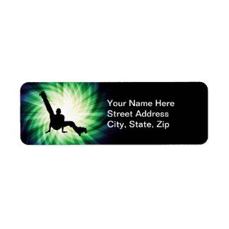 Roller Skate Dancing Custom Return Address Label
