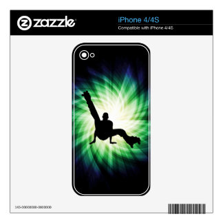 Roller Skate Dancing Decal For iPhone 4S