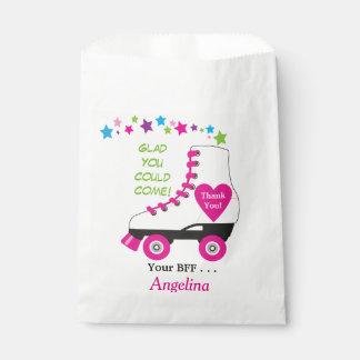 Roller Skate Favor or Party Bag for Goodies!