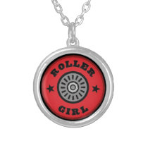 Roller Skate Girl Necklace