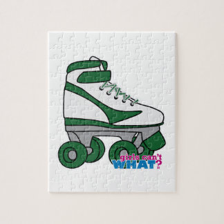 Roller Skate - Green Jigsaw Puzzle