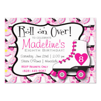 Roller Skate Invitation#2 Card