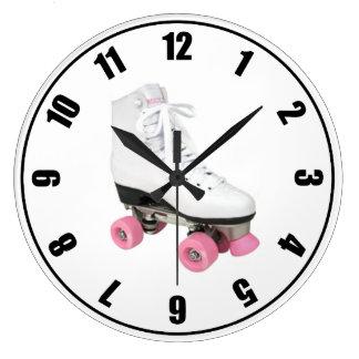 Roller Skate Large Clock