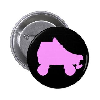 roller skate pinback button