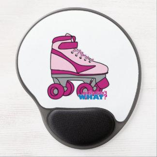 Roller Skate - Pink Gel Mouse Pad
