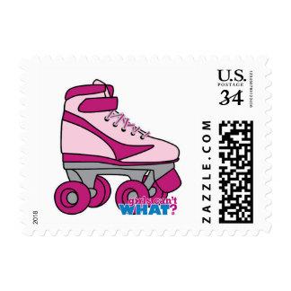 Roller Skate - Pink Postage