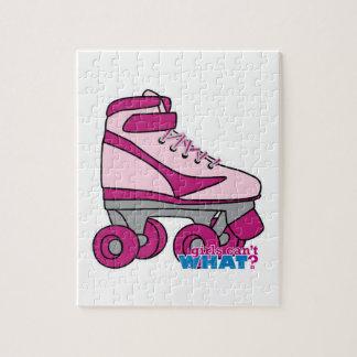 Roller Skate - Pink Puzzle