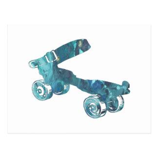 Roller Skate Postcard