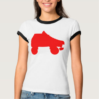 roller skate silhouettes tshirts