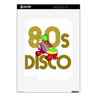 Roller Skater 80s iPad 2 Decal