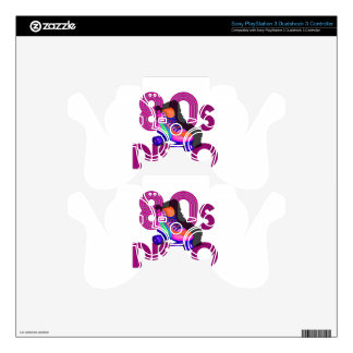 Roller Skater 80s PS3 Controller Decal