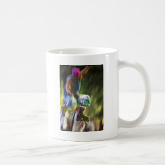 Roller Skater Jumper NYC Coffee Mug