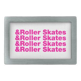 & Roller Skates Belt Buckle