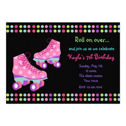 Roller Disco Invitations was great invitation ideas