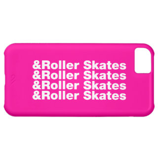 & Roller Skates Cover For iPhone 5C