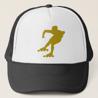 roller-skating-2 trucker hat