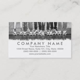 Roller skating business cards templates zazzle roller skating business cards colourmoves