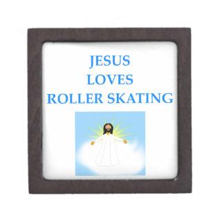 roller skating jewelry box