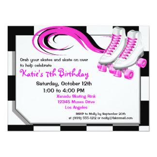 Roller Skating Party Custom Invitations