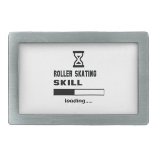 Roller Skating skill Loading...... Rectangular Belt Buckle