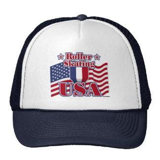 Roller Skating USA Trucker Hat