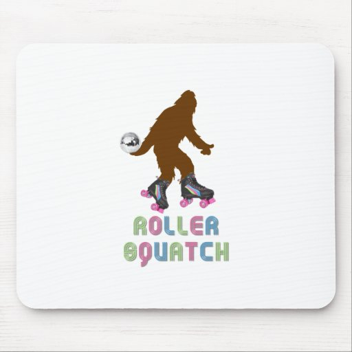 Roller Squatch Mouse Pad