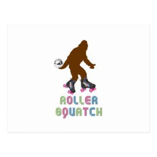 Roller Squatch Post Card