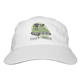 Rollerblade Skates Personalized Name Headsweats Hat