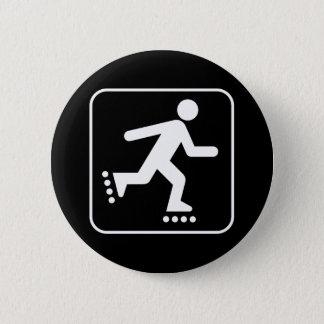 Rollerblade Symbol Button