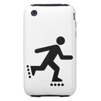 Rollerblade Symbol iPhone 3 Tough Cover