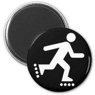 Rollerblade Symbol Magnet