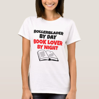 Rollerblader Book Lover T-Shirt