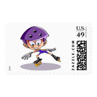 Rollerblader Postage