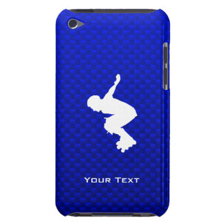 Rollerblading azul iPod touch Case-Mate fundas