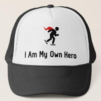 Rollerblading Hero Trucker Hat