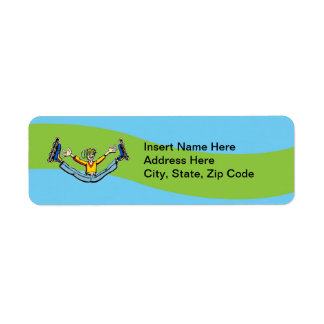 Rollerblading Label