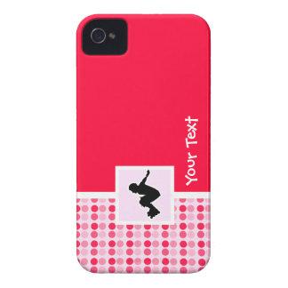 Rollerblading lindo iPhone 4 Case-Mate cárcasa
