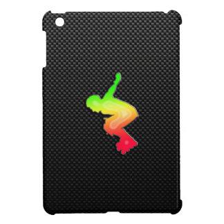 Rollerblading liso iPad mini funda