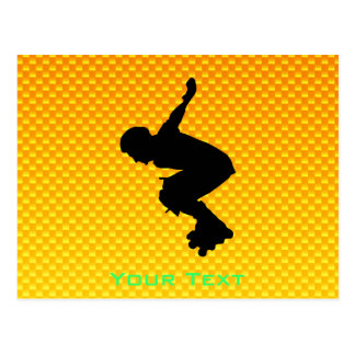 Rollerblading Postcard