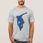 Rollerblading Silhouette T Shirt