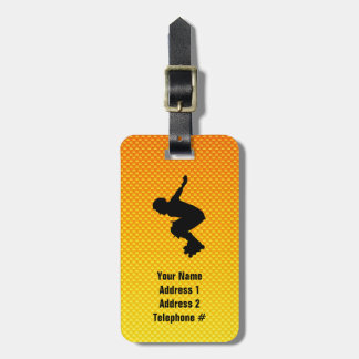 Rollerblading Tag For Luggage