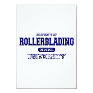 Rollerblading University Card