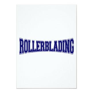 Rollerblading University Style Card