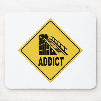 Rollercoaster 1 mouse pad