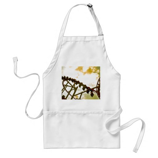 Rollercoaster Adult Apron