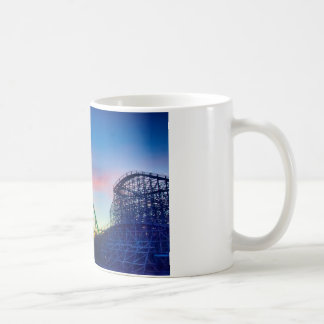 rollercoaster amusement ride coffee mug